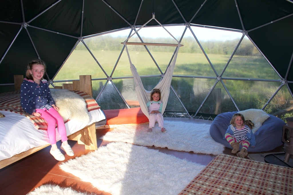 Cosy under canvas - Copyright: www.globalmousetravels.com