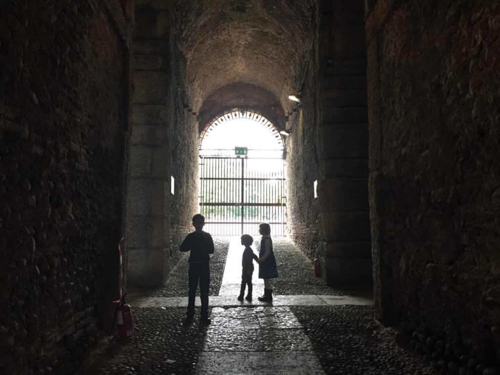 The Arena, Verona, Italy - copyright: www.globalmousetravels.com verona with children
