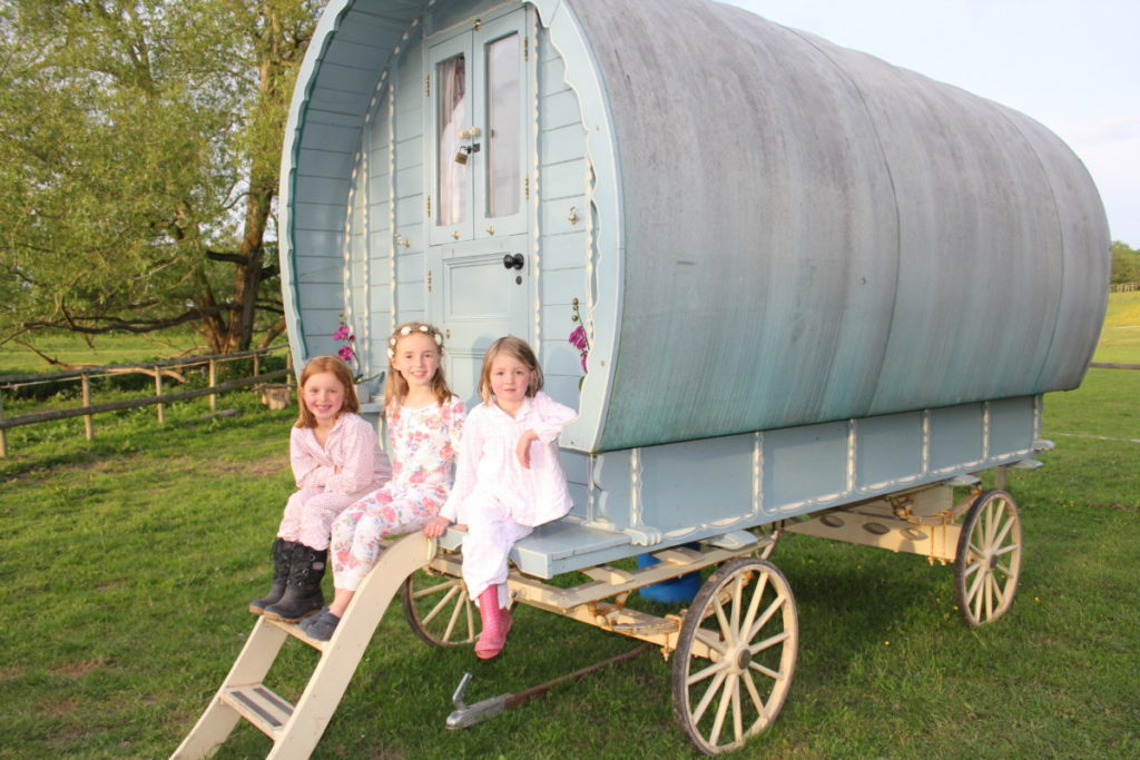 Digeddi campsite - family fun, eco glamping in the Wye Valley - copyright: www.globalmousetravels.com