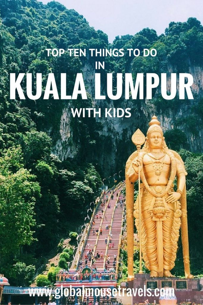 Top 10 things in Malaysia with kids - copyright: www.globalmousetravels.com