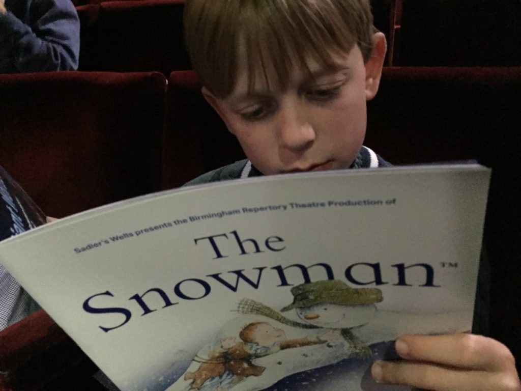 Festive delights for all the family at The Snowman, Peacock Theatre, London - copyright: www.globalmousetravels.com