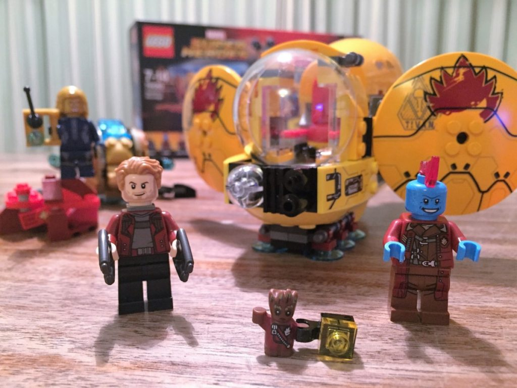 Guardians of the Galaxy Vol 2 Lego sets - copyright: www.globalmousetravels.com