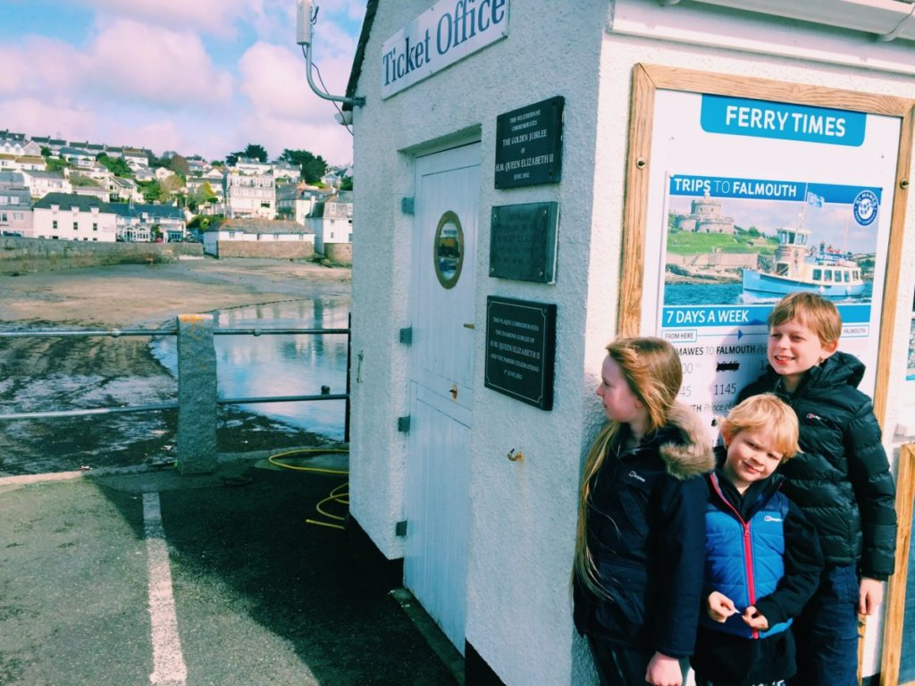 A trip to the Cornish seaside, St Mawes, with Berghaus coats from Blacks