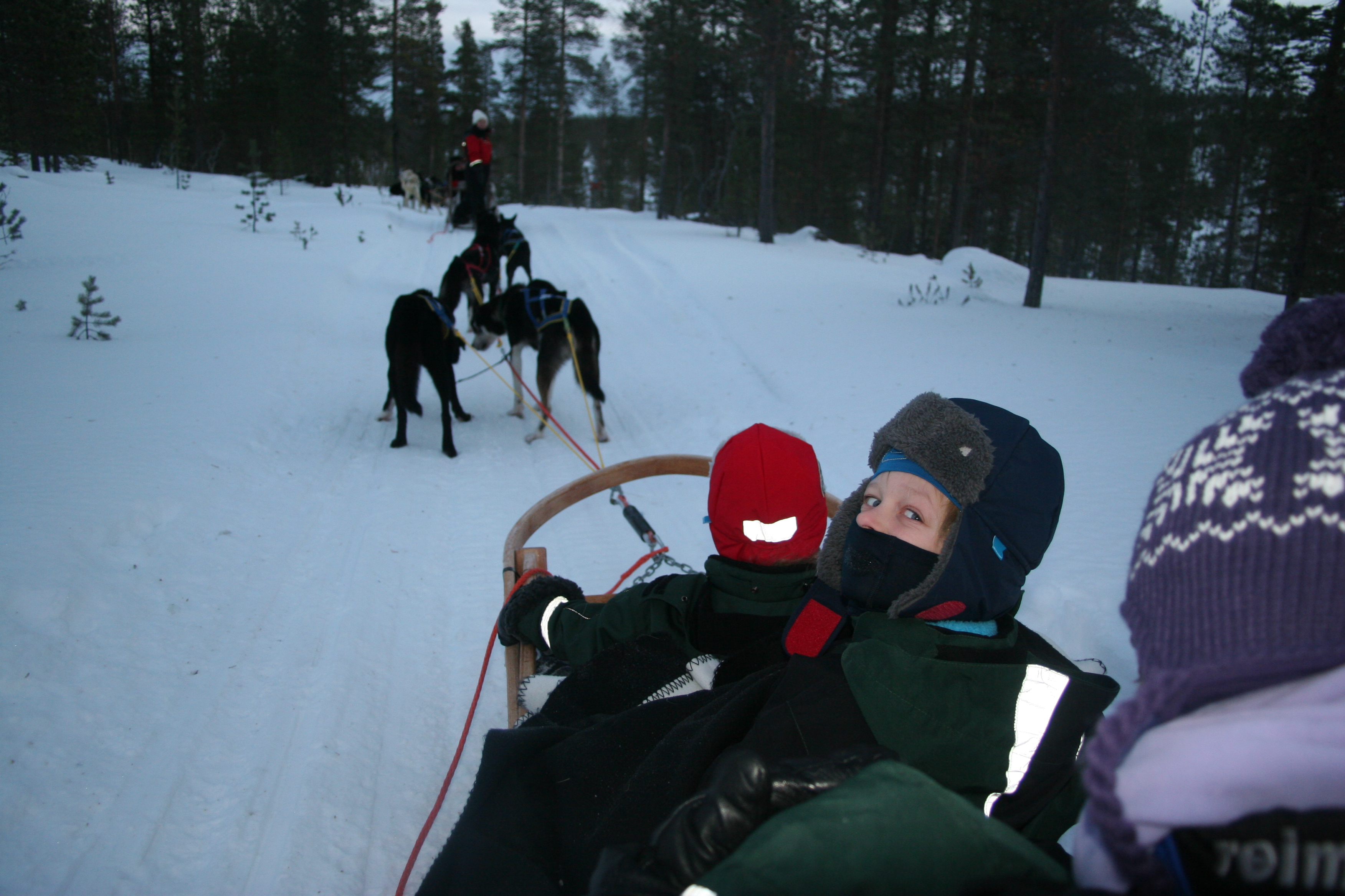 A family packing list for Lapland