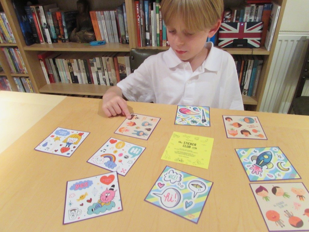 The Sticker Club – Let's get stuck in!