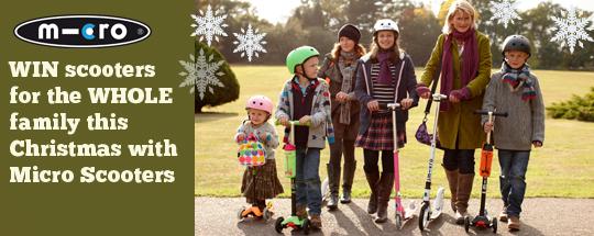 Micro scooters image christmas blog