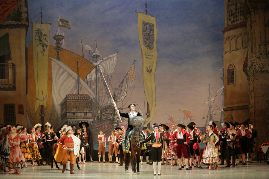Don Quixote at the Mariinsky Theatre, St Petersburg