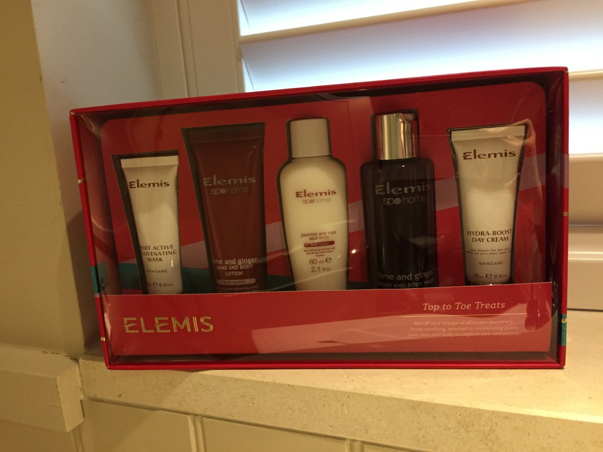 Elemis Top to Toe Treats set