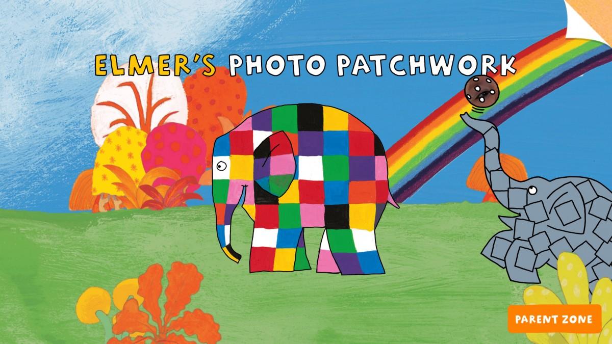 elmer photo patchwork