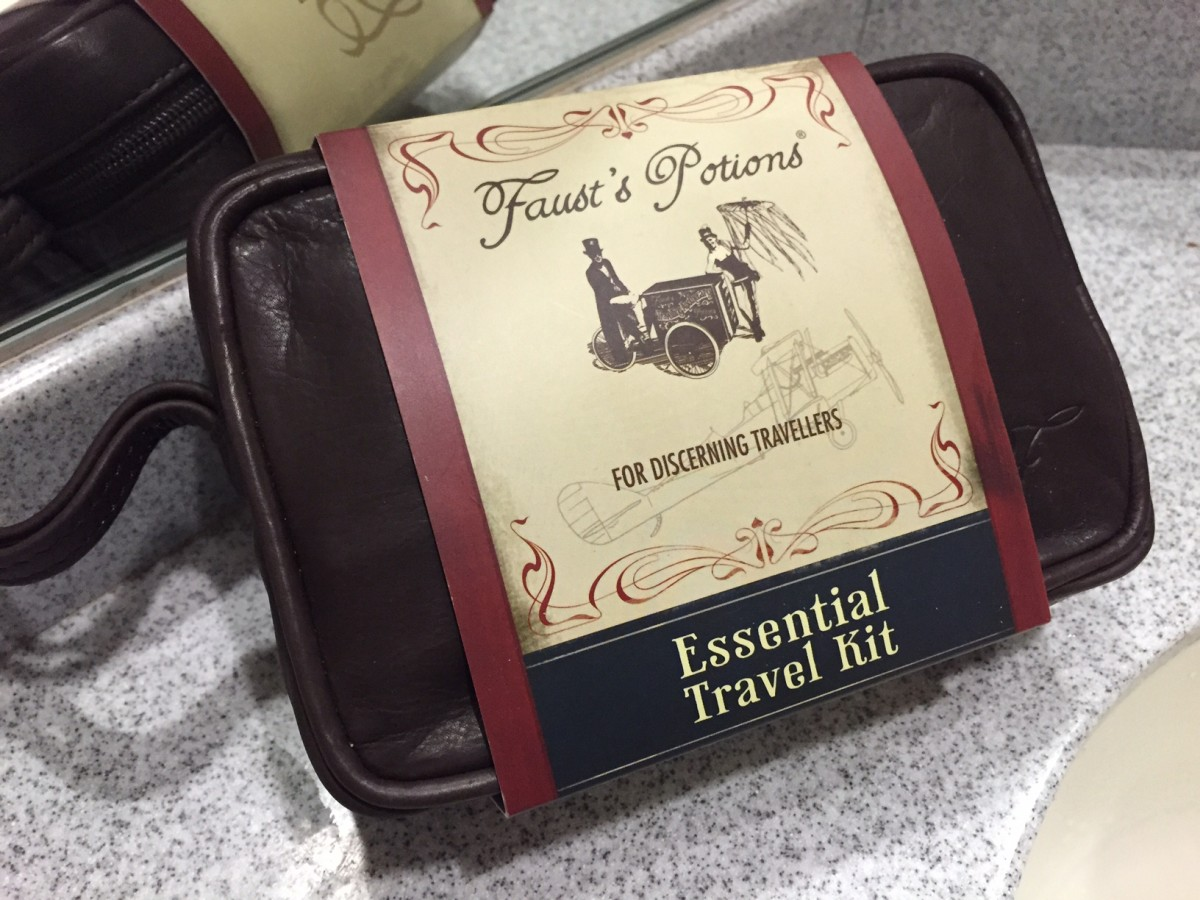 Faust's Essential Travel Kit - copyright: www.globalmousetravels.com