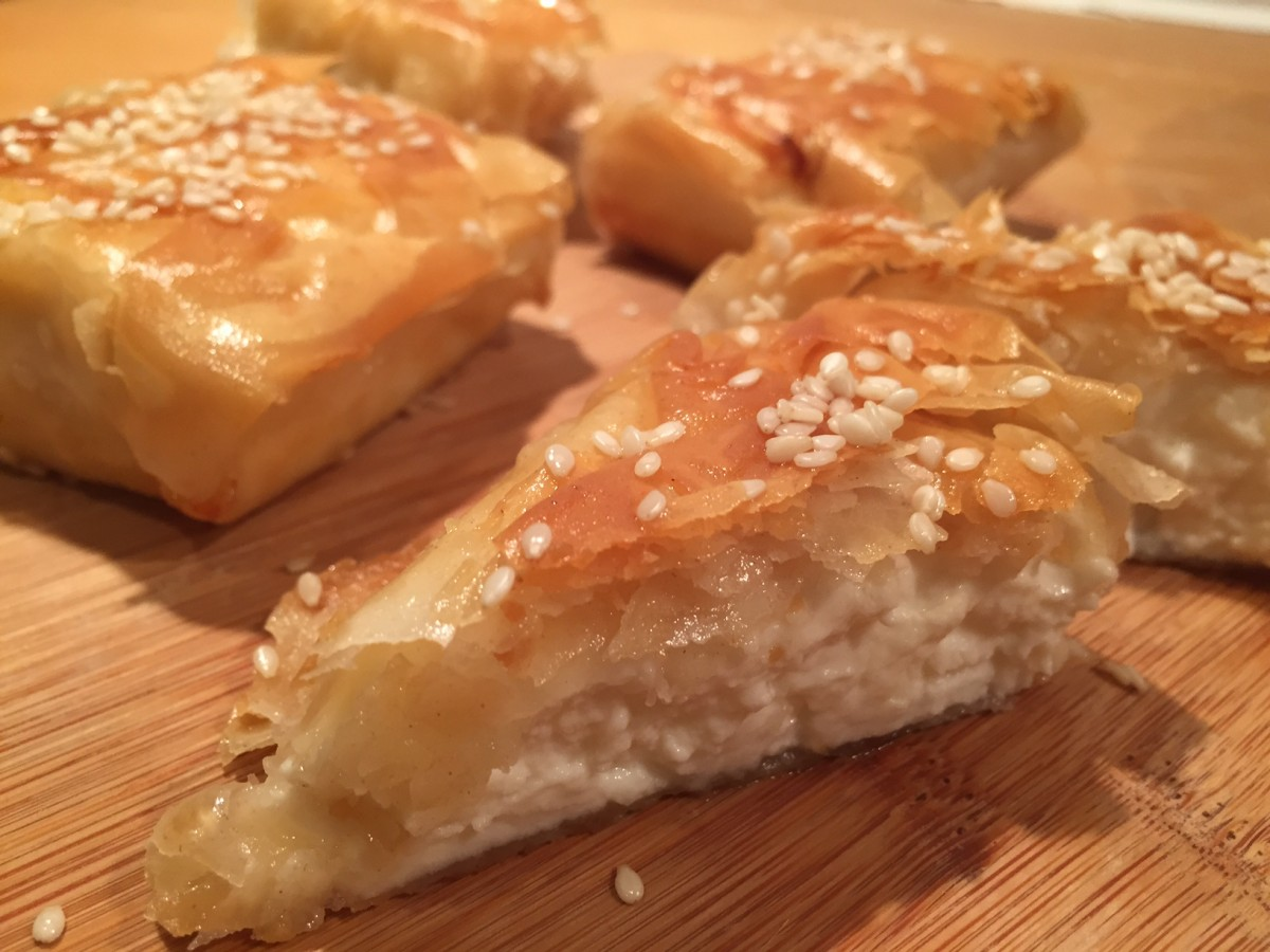 A taste of our travels meliasti feta cheese with sesame and meliasti greek recipe copyright globalmousetravels forumfinder Image collections