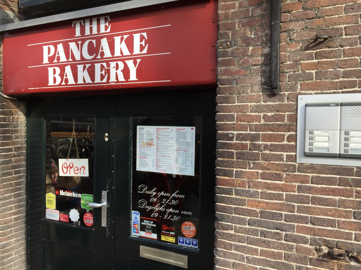 The Pancake Bakery, Amsterdam - Copyright: www.globalmousetravels.com