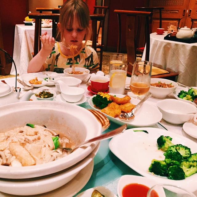 Dinner at Shang Palace, Shangri-La Hotel, Kuala Lumpur