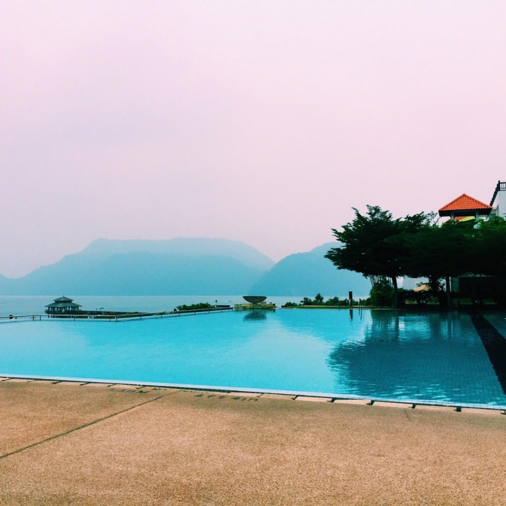 The beautiful Westin Hotel, Langkawi