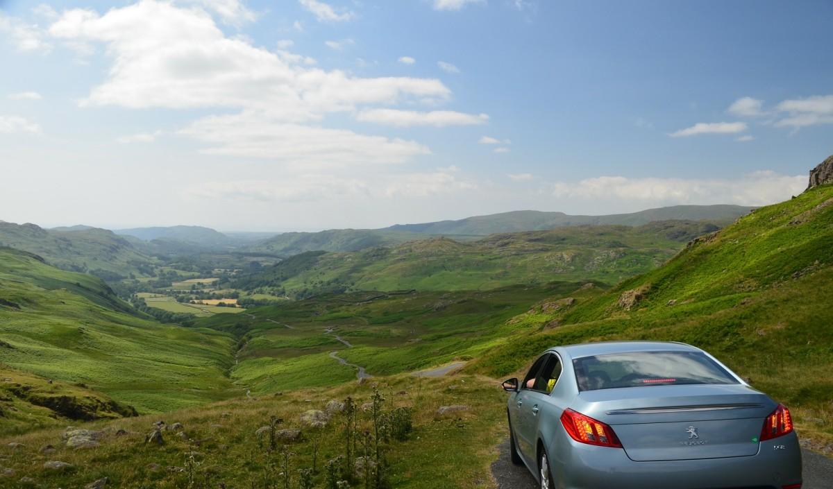 driving around the UK