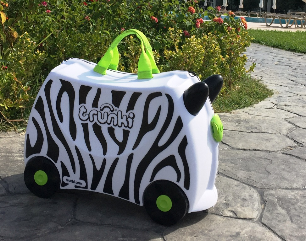 Trunki Zimba the Zebra - copyright: www.globalmousetravels.com