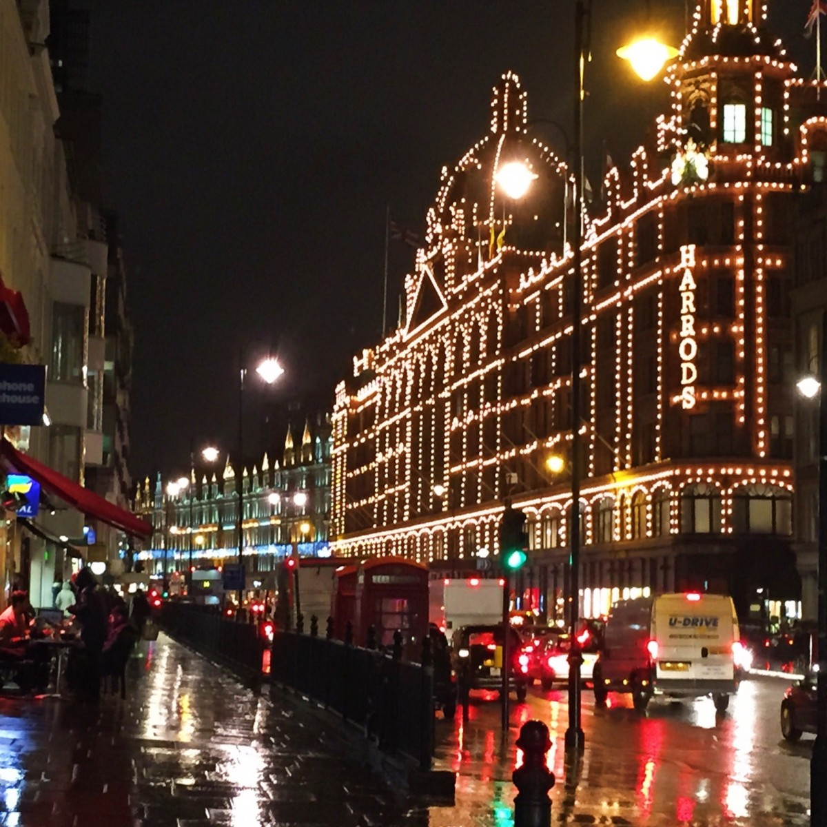 Harrods Christmas 2015, London - Copyright: www.globalmousetravels.com