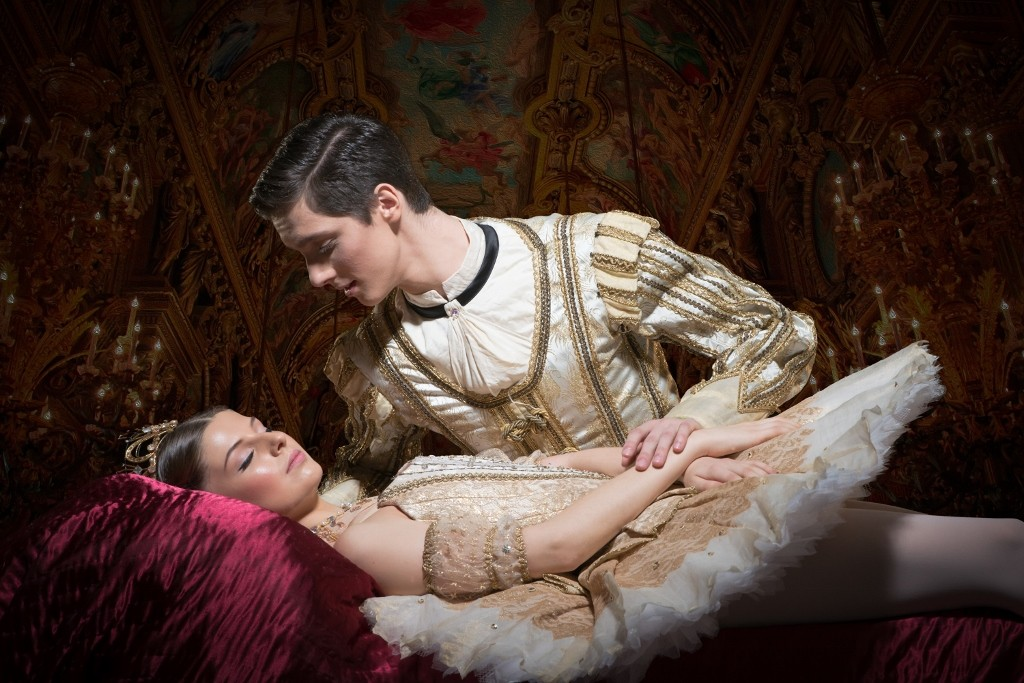English National Ballet School's production of My First Sleeping Beauty. Markova House, Jay Mews, London on January 18, 2016. Photo: Arnaud Stephenson