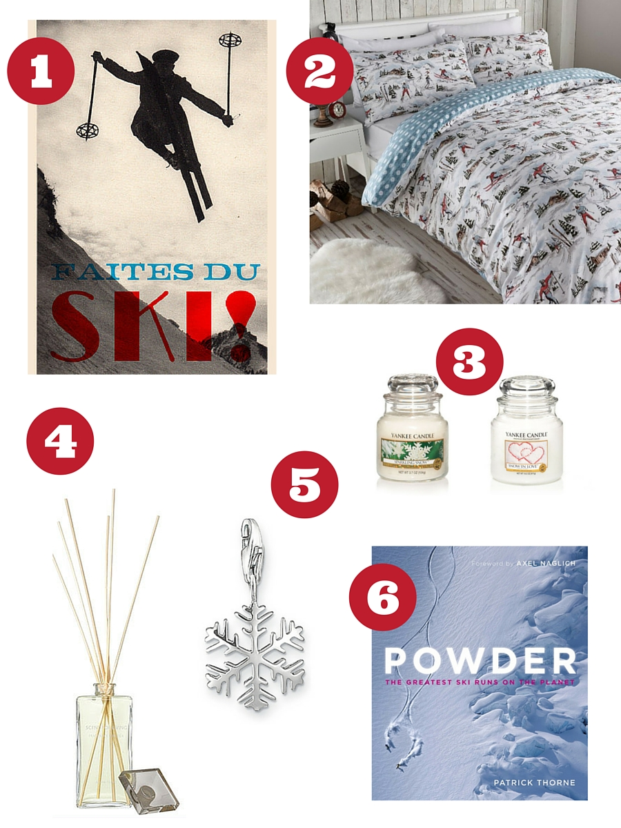 Love skiing, gifts for skiers - copyright: www.globalmousetravels.com