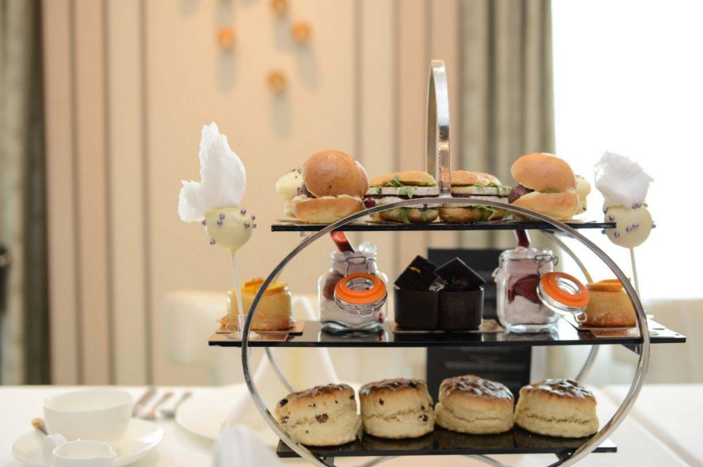 Launching Eric Lanlard's 'Afternoon Tea' on board P&Os Britannia