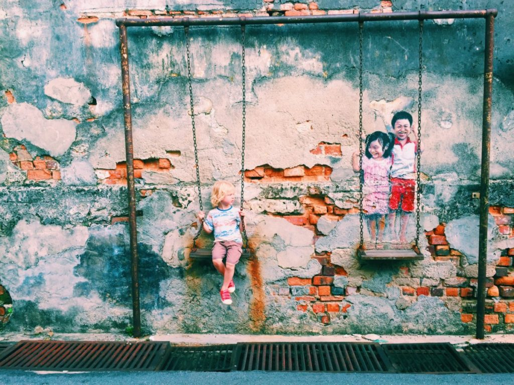 street art of Georgetown, Penang - copyright: www.globalmousetravels.com