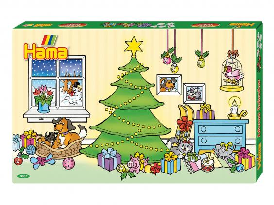 10 of the best advent calendars for kids this Christmas - Hama Beads Advent Calendar