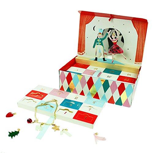 10 of the best advent calendars for kids this Christmas - Meri Meri Nutcracker charm bracelet
