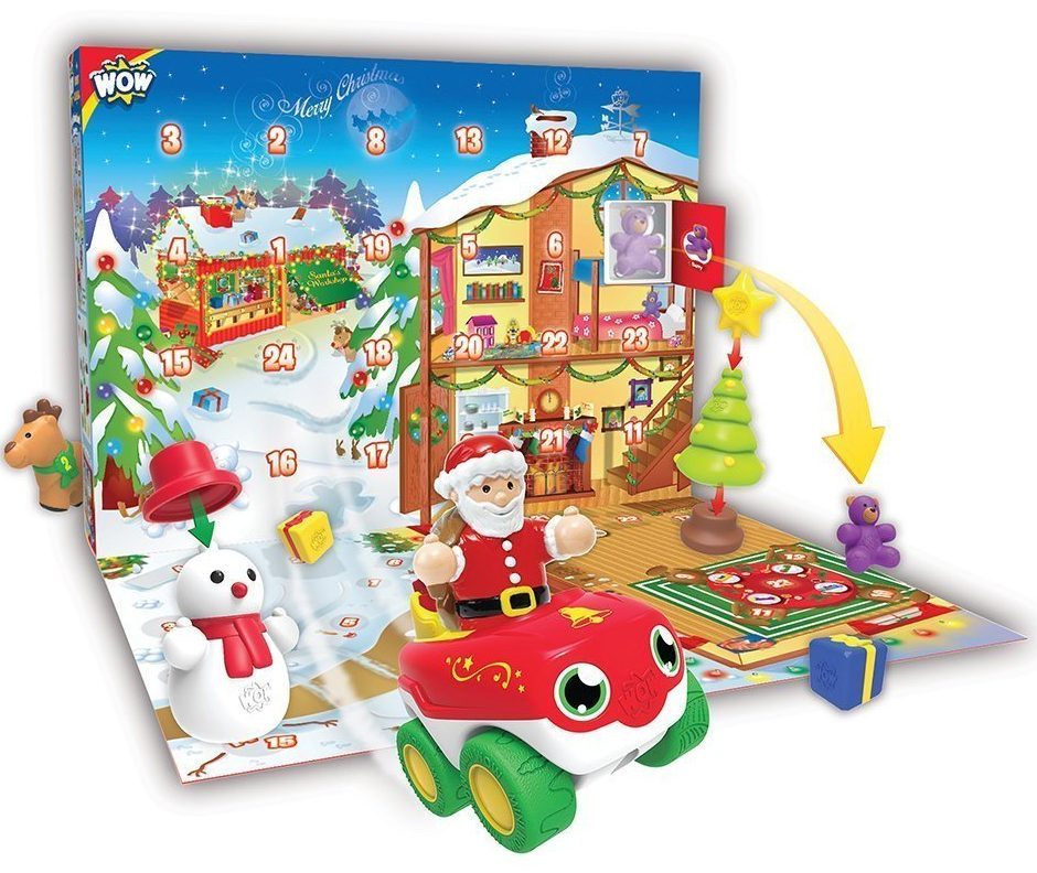 10 of the best advent calendars for kids this Christmas - Wow Toys