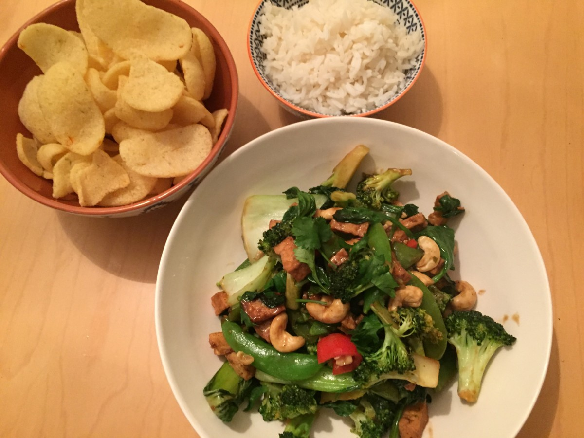 Spicy Vietnamese super green vegan stir fry - copyright: https://globalmousetravels.com