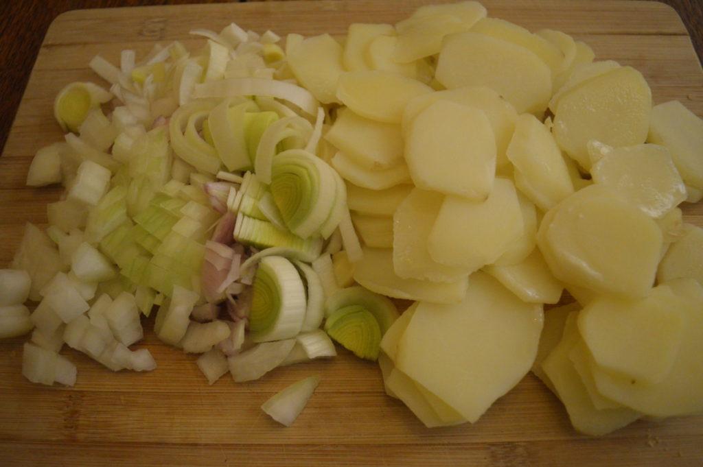 Vegetarian Tartiflette - copyright: www.globalmousetravels.com