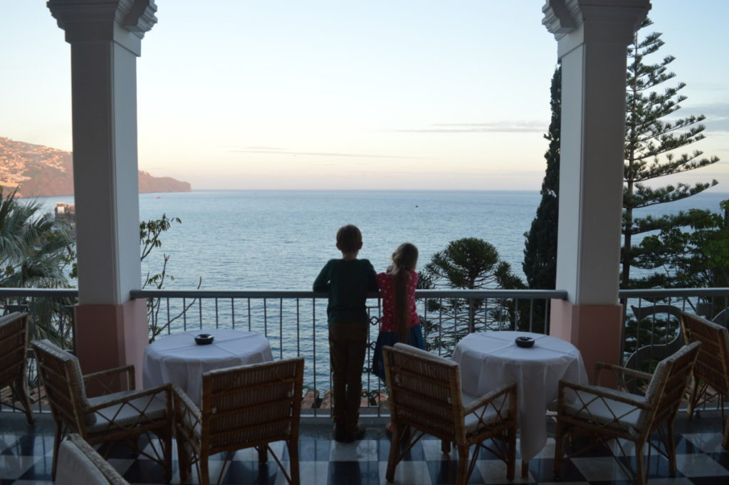 Italian delights at Villa Cipriani, Belmond Reid's Palace, Funchal, Madeira - copyright: www.globalmousetravels.com