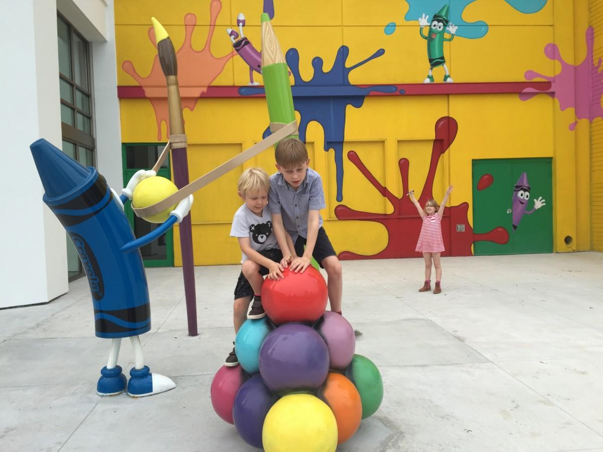 Crayola Experience Orlando - copyright: www.globalmousetravels.com