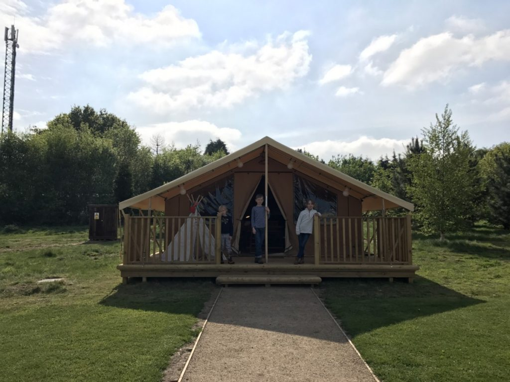 Glamping it up with Ready Camp in Tamworth, Staffordshire