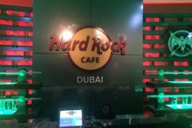 Rockstar dining in Hard Rock Cafe, Dubai Festival City Mall - copyright: www.globalmousetravels.com