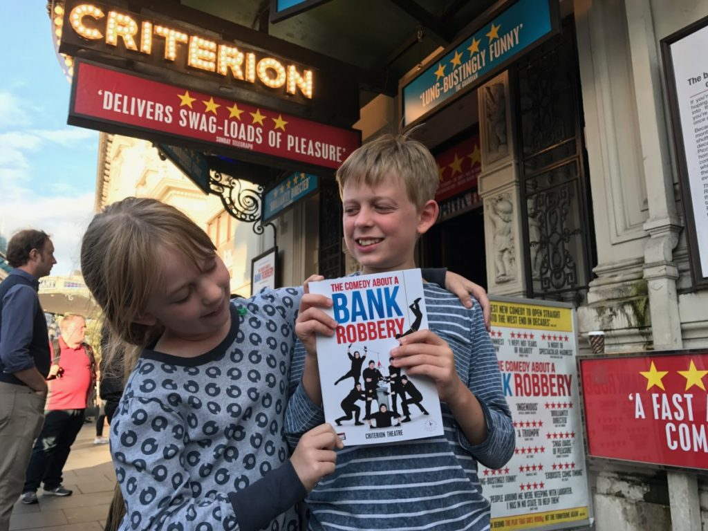 A super, summer trip to London's West End with children - copyright: www.globalmousetravels.com
