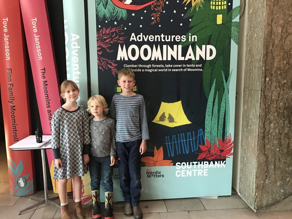 Wonderful Adventures in Moominland at Southbank Centre, London - copyright: www.globalmousetravels.com