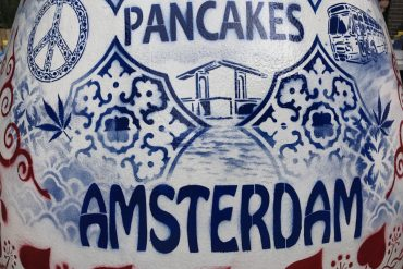 Perfect Pancakes in the Netherlands - Pancakes Amsterdam Westermarkt review - copyright: www.globalmousetravels.com