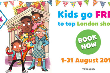 Kids go free to the theatre in London this August