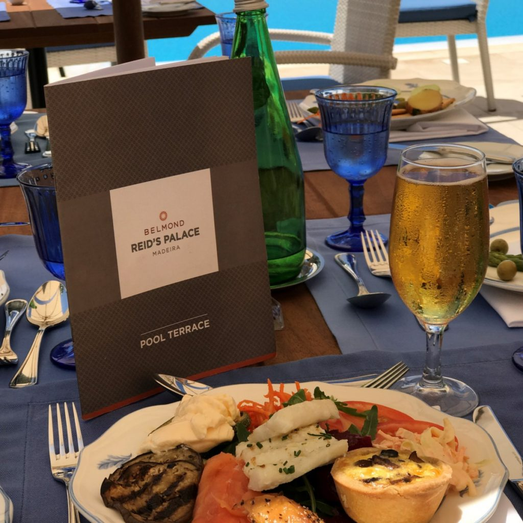 A great mix of heritage and style - lunch at Belmond Reid's Palace, Funchal, Madeira - copyright: www.globalmousetravels.com
