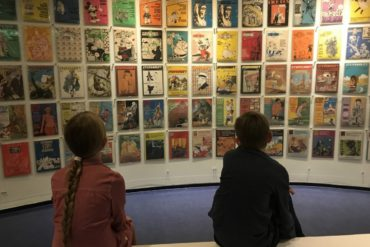 Step into the world of comics - Het Netherlands Strip-Museum, Groningen - copyright: www.globalmousetravels.com