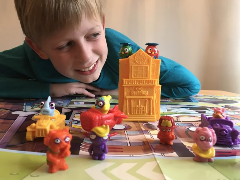 Zomlings are back! Reviewing series six zomlings - fun collectables for kids - copyright: wwwg.globalmousetravels.com
