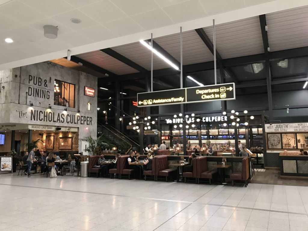 The ultimate family guide to gatwick airport globalmouse travels nicholas culpeper outstanding among restaurants at gatwick north terminal copyright globalmousetravels kristyandbryce Gallery