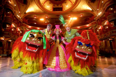 The biggest and best pantomime so far! Aladdin at Bristol Hippodrome - copyright: www.globalmousetravels.com