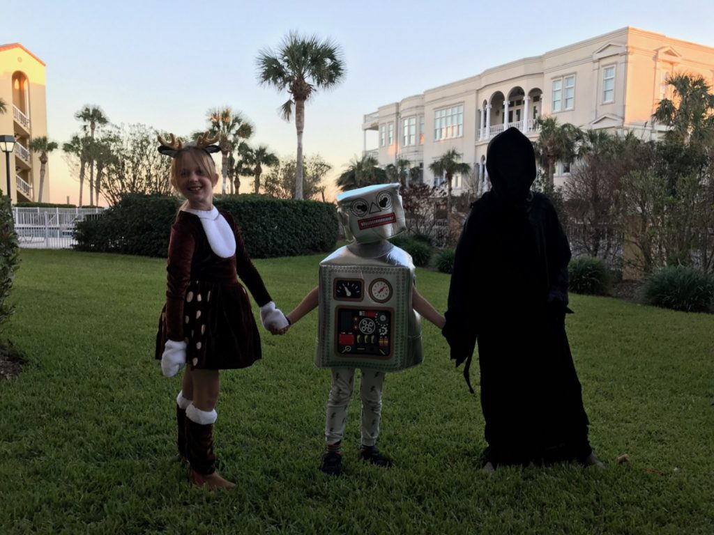 Halloween on St Simons Island - Our family trip through Florida and Georgia - copyright: www.globalmousetravels.com