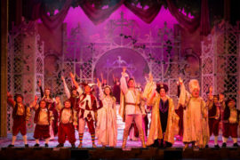 Snow White and the Seven Dwarfs at Theatre Royal Bath - Full Cast - Photo credit Freia Turland