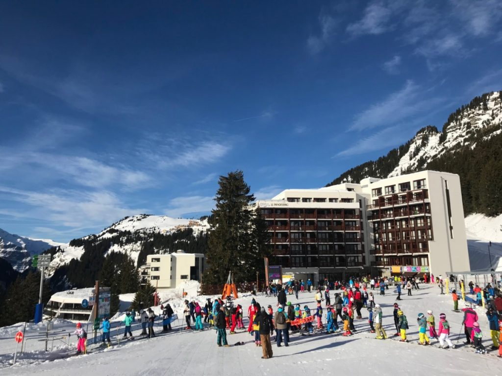The Panoramic Hotel - Skiing in Flaine with Crystal Ski - A wonderful week in the French Alps - copyright: www.globalmousetravels.com