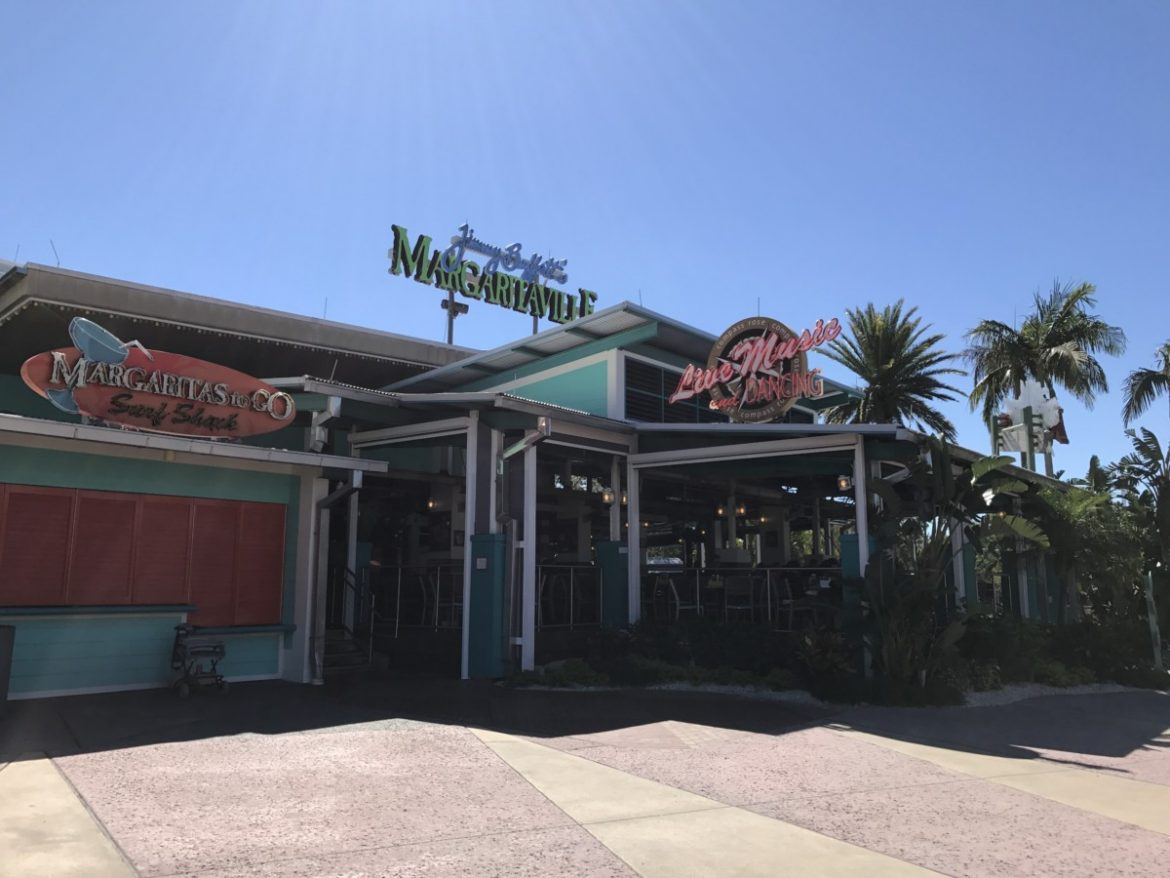 Margaritaville restaurant, City Walk, Universal, Florida - One of the best restaurants at Universal Orlando -copyright: www.globalmousetravels.com