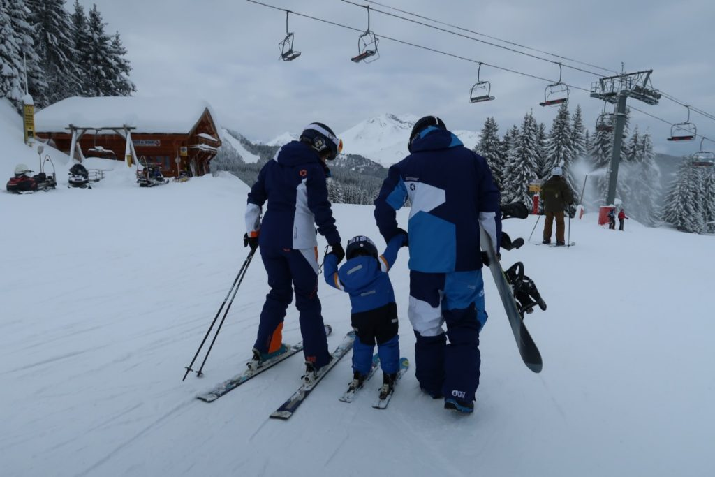 The ultimate guide to family friendly ski resorts in Europe with kids - France Morzine