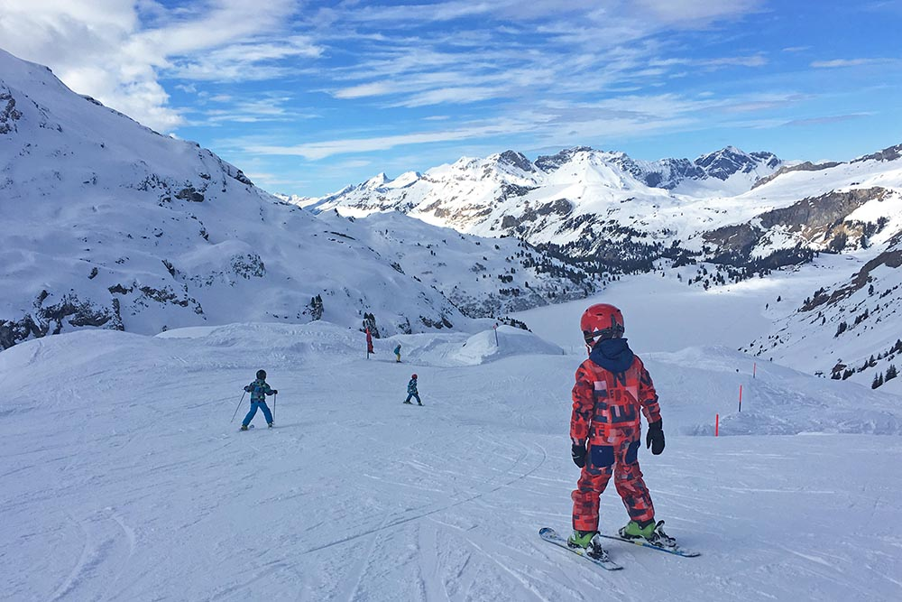 The ultimate guide to family friendly ski resorts in Europe with kids - Skiing in Engelberg Switzerland