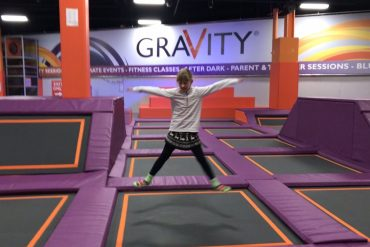 Jump, bounce and smile! Trampoline fun for kids at Gravity Intu Braehead Glasgow - copyright: www.globalmousetravels.com